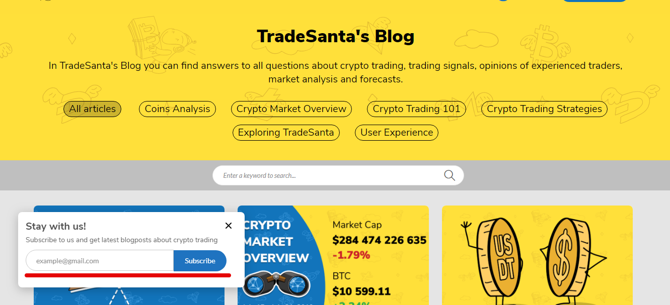 Crypto news in the TradeSanta's blog