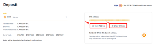 BTC address on Binance exchange – Automated crypto trading