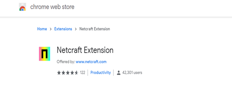 How to protect yourself from phishing: Chrome Netcraft Extension